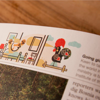 MONOCLE MAGAZINE 74. Top-boxes